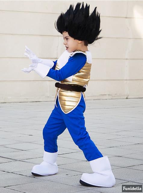 Vegeta Parykk til barn - Dragon Ball