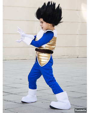 Vegeta Parykk til barn - Dragon Ball