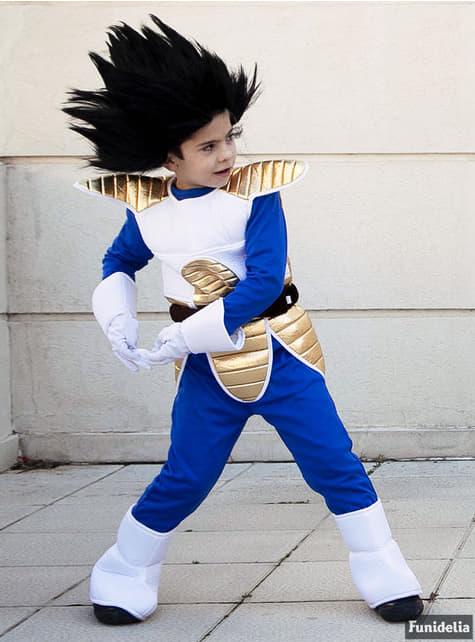 Fato de Vegeta para menino - Dragon Ball