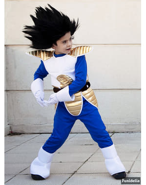 Vegeta Peruk för Barn - Dragon Ball