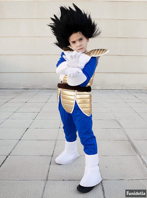 Disfraz de Vegeta para niño - Dragon Ball - original