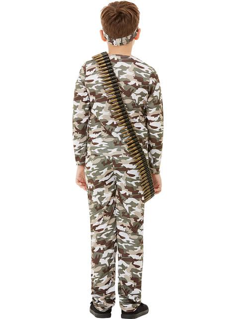 Disfraz militar infantil  - infantil