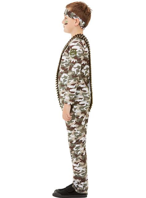 Disfraz militar infantil  - original