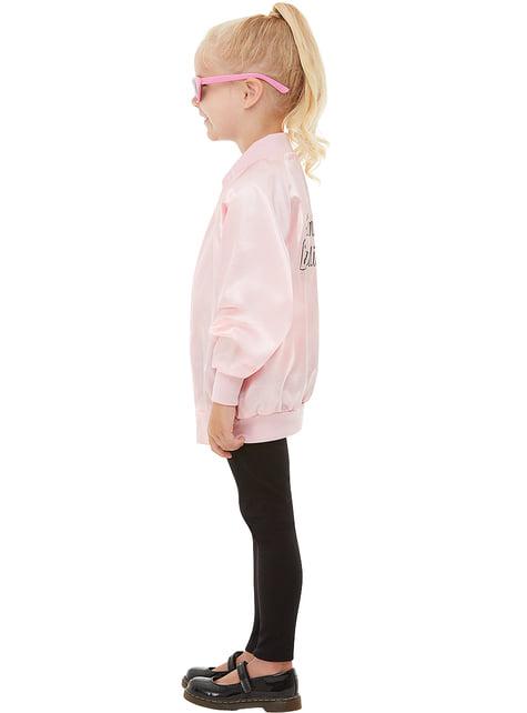 Pink Ladies jakke til jenter Grease. Levering neste dag