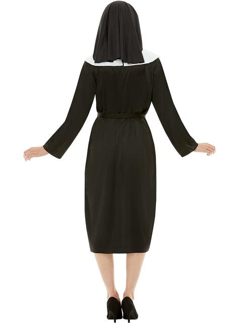 Disfraz de monja - mujer