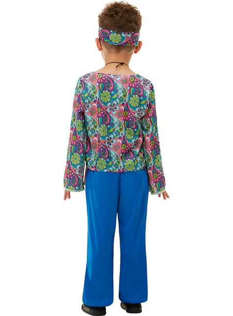 Disfraz de hippie para niño - infantil