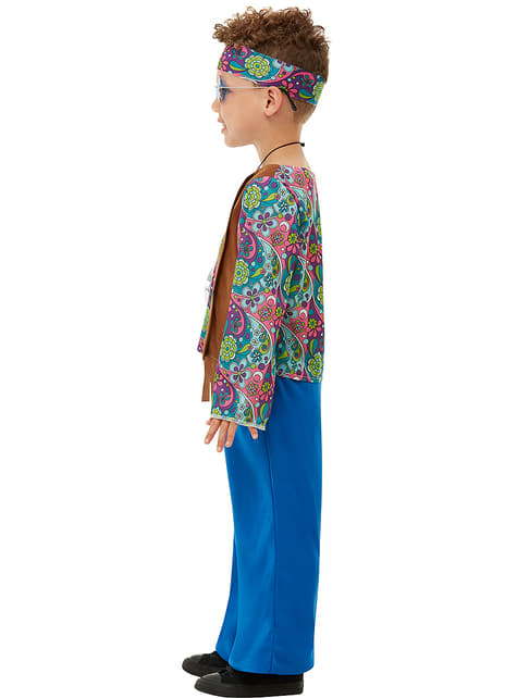 Disfraz de hippie para niño - original