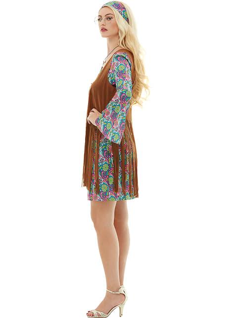 Disfraz de hippie para mujer - original