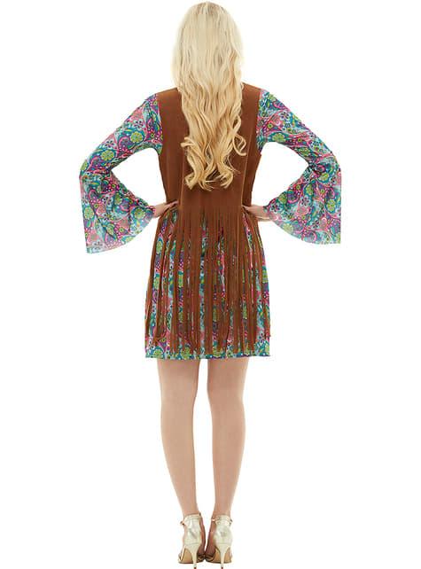 Disfraz de hippie para mujer - traje