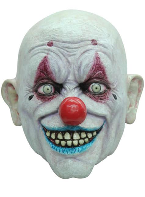 Máscara Crappy The Clown Halloween