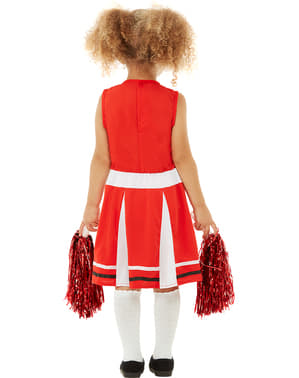 Costume cheerleader per bambina