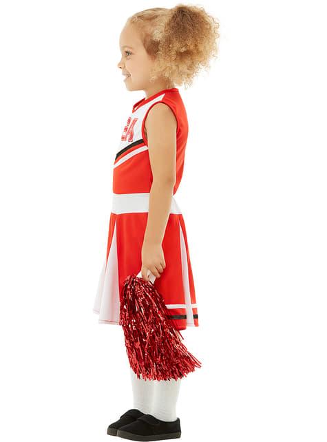 Disfraz de animadora para niña - original