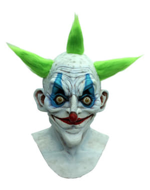 Halloween Old Clown maske