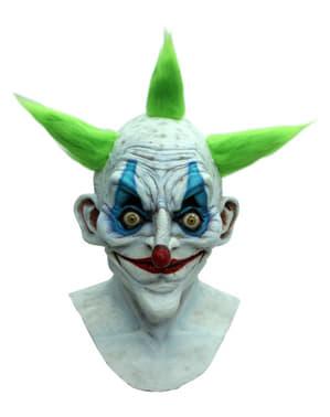 Halloweenská maska starý klaun