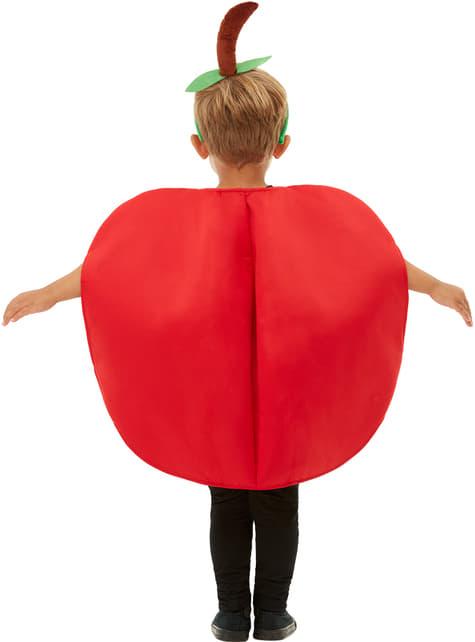 Fato de maçã infantil