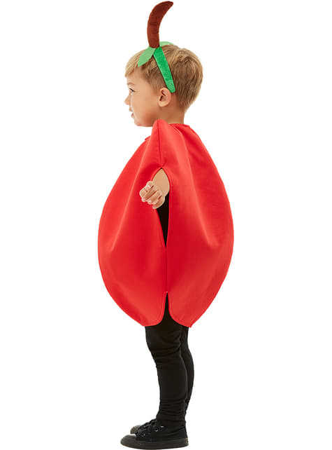 Disfraz de manzana infantil - traje