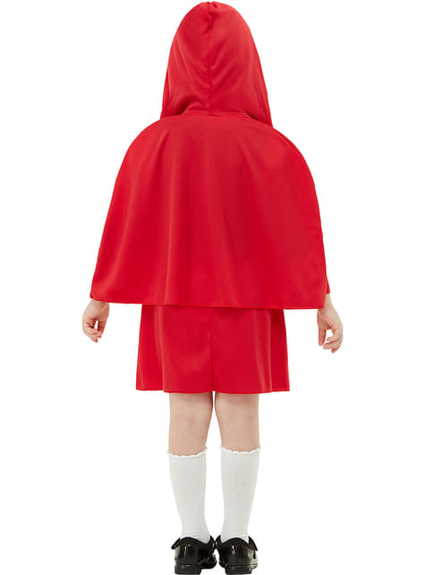 Fato de Capuchinho Vermelho para menina