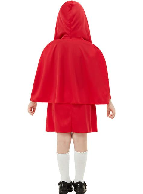 Strój Czerwonego Kapturka dla dziewczynek