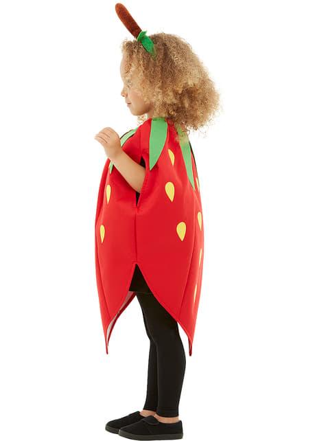 Disfraz de fresa infantil - traje