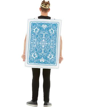 Hjerter Konge Spillekort kostume