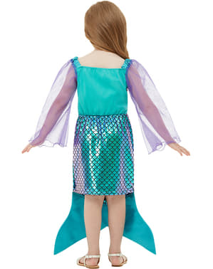 Kostým mořská víla pro dívky