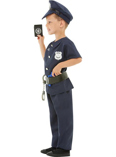 Disfraz de policía para niño - original