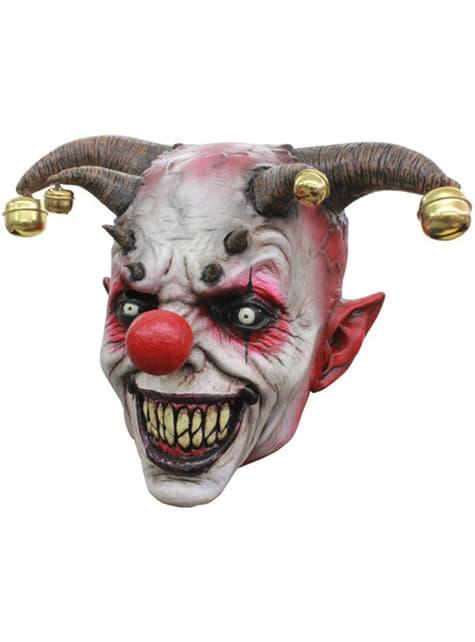 Máscara de bufón terrorífico