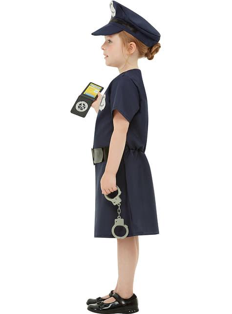 Disfraz de policía para niña - original