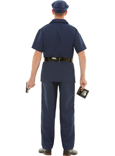 Disfraz de policía - hombre
