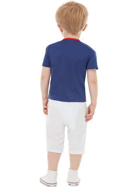 Disfraz de jugador de rugby para niño - infantil