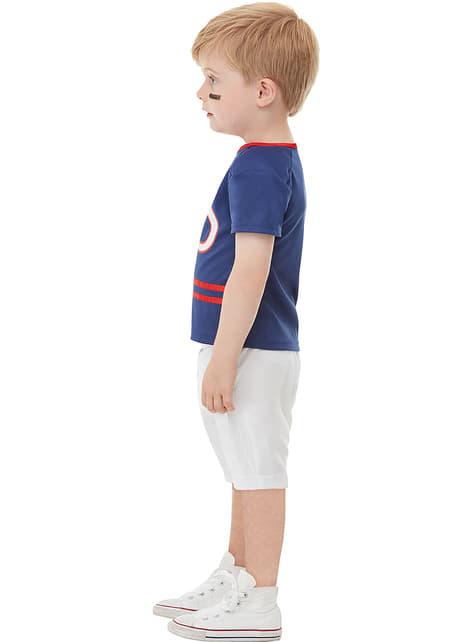 Disfraz de jugador de rugby para niño - original