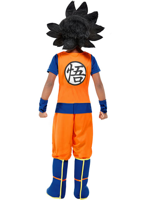 Goku Kostyme til Gutter - Dragon Ball
