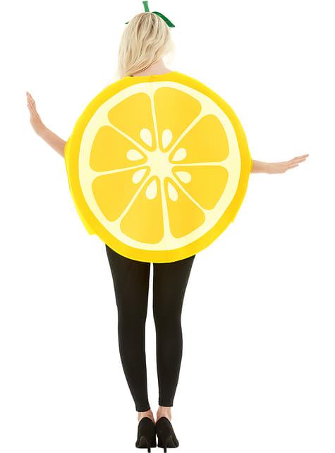 Déguisement citron adulte