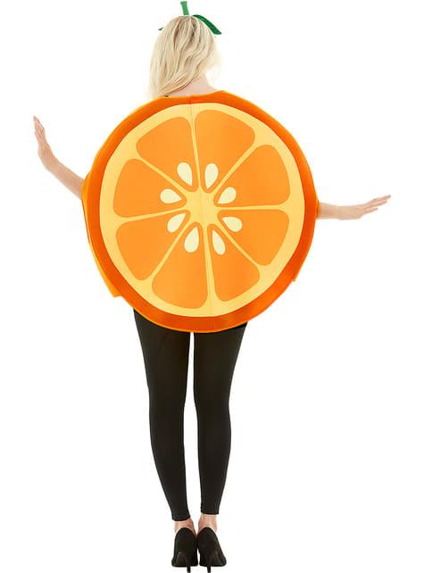 Déguisement orange adulte