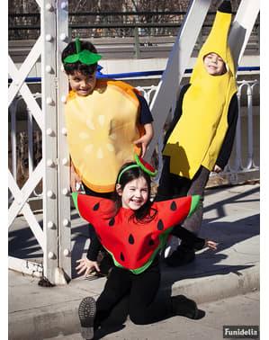 Bananen Kostüm für Kinder