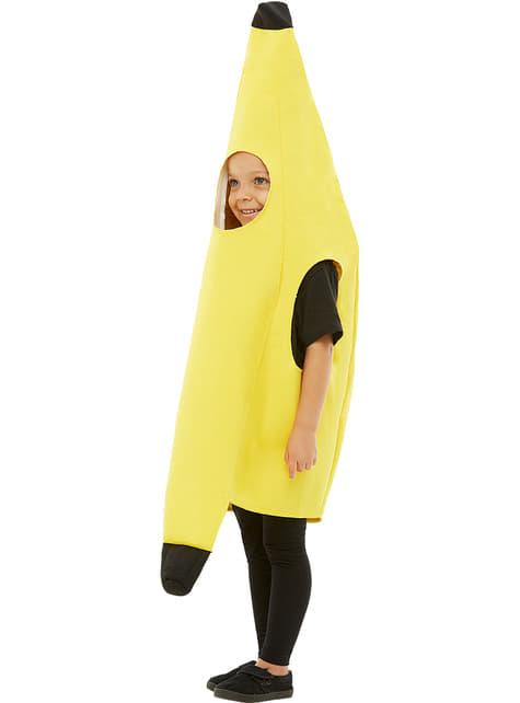 Fato de banana infantil