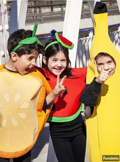Disfraz de naranja infantil - original