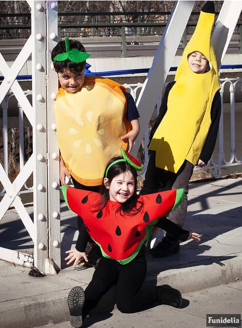 Orange costume for kids
