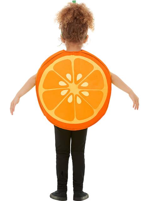 Orangen Kostüm für Kinder