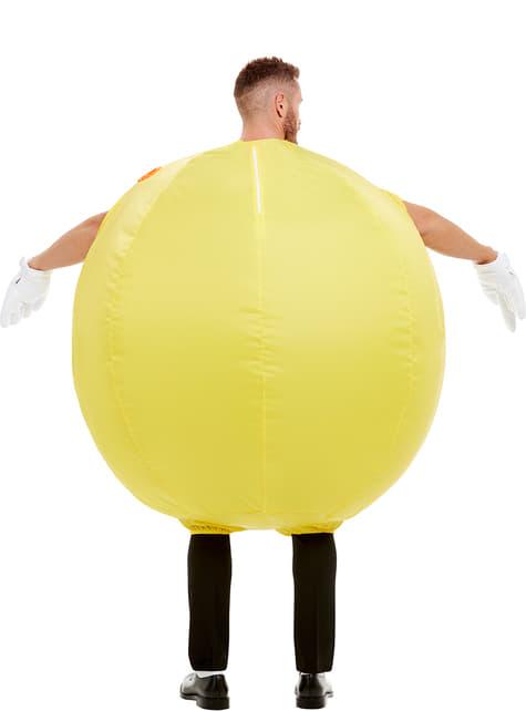 Disfraz de Pac-Man hinchable para adulto - adulto