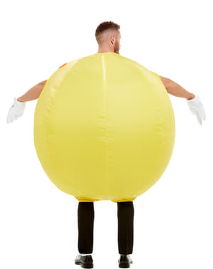 Oppblåsbar Pac-Man kostyme til voksne