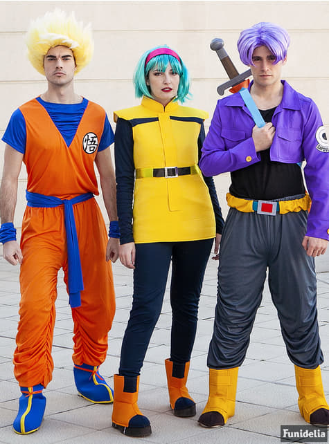 Peruca de Bulma - Dragon Ball