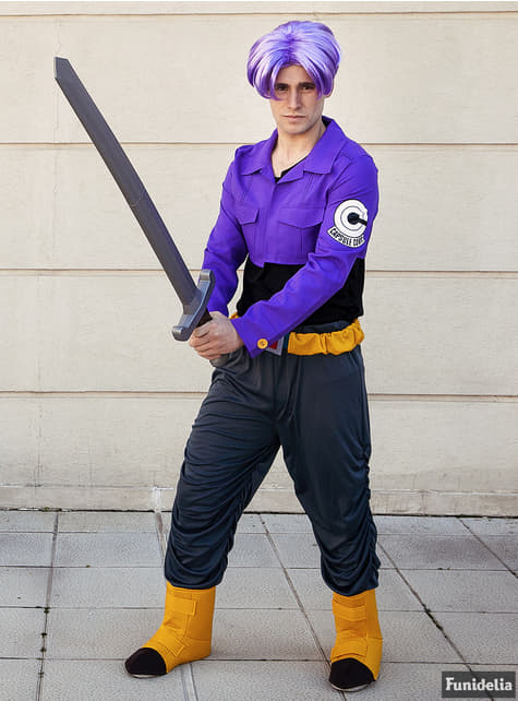 Peruca de Trunks - Dragon Ball