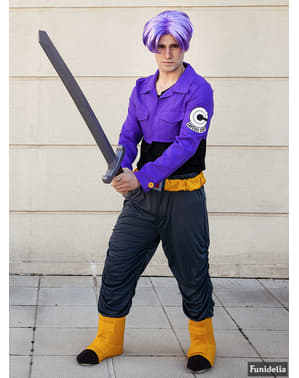 Trunks pruik - Dragon Ball