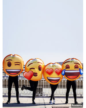 Emoji mosolygós könnyek jelmez