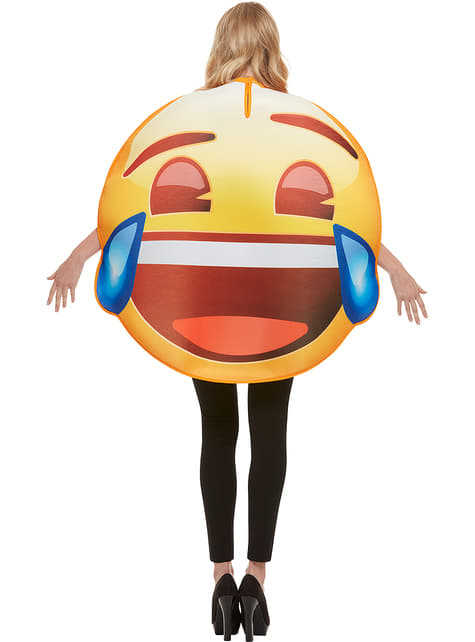 Emoji Kostume smiler med tårer