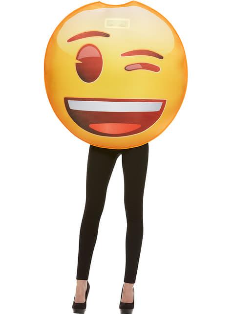 Déguisement Emoji clin d'œil