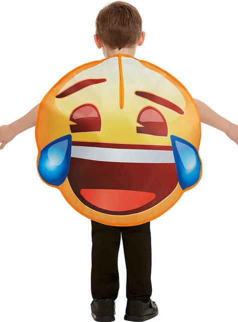 Disfraz de Emoji sonriente con lágrimas infantil - Carnaval