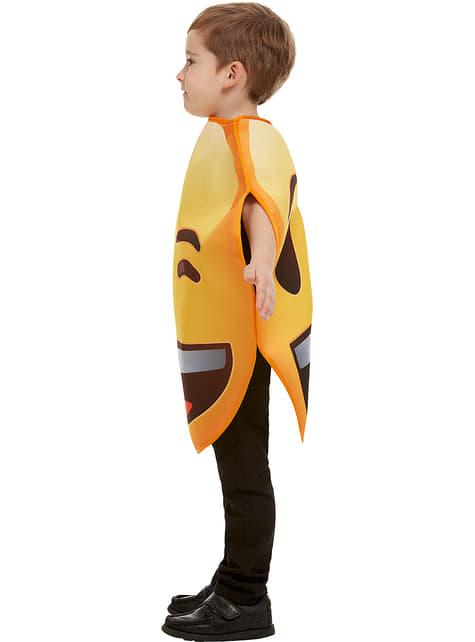 Disfraz de Emoji guiñando un ojo infantil - barato