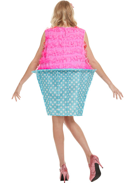 Disfraz de cupcake - mujer